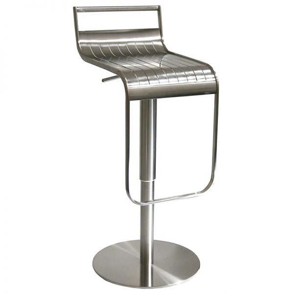 Celestial Steel Adjustable Breakfast Bar Stool