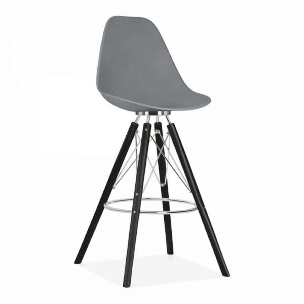 Tidal Fixed Height Bar Stool CD3 - Grey