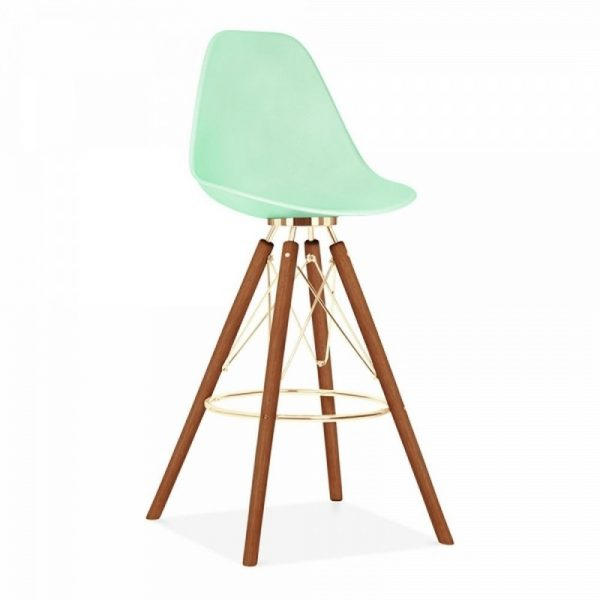 Tidal Fixed Height Bar Stool CD3 - Pastel Green