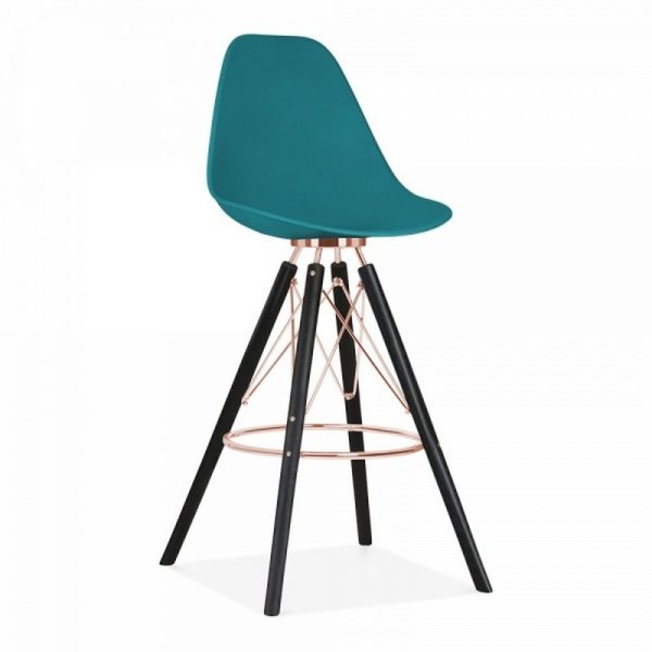 Tidal Fixed Height Bar Stool CD3 - Teal