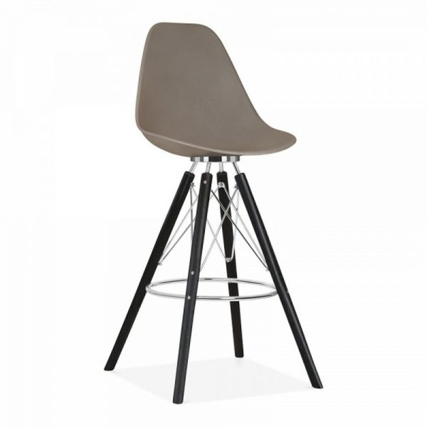 Tidal Fixed Height Bar Stool CD3 - Warm Grey