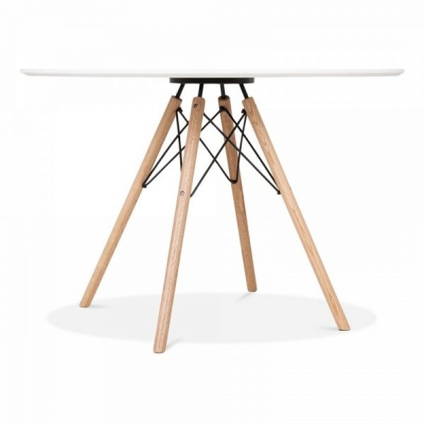 1 Round Table & 4 Chairs - Black
