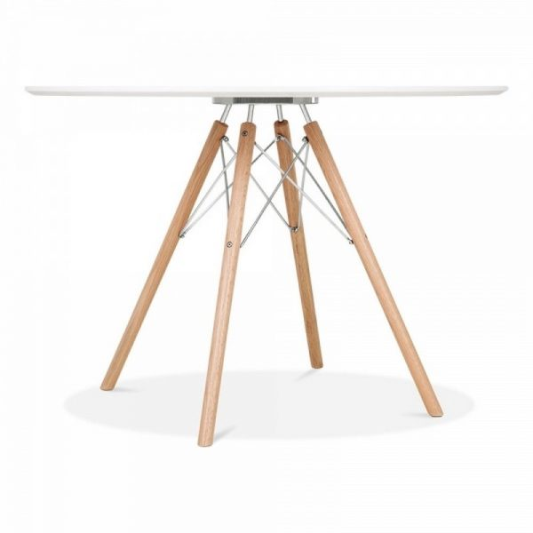 1 Round Table & 4 Chairs - Chrome