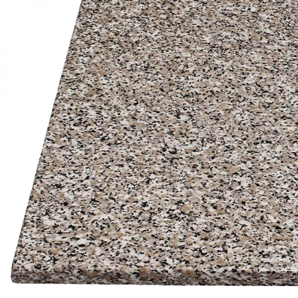 Monero Commercial 70cm Square Table Top - Granite