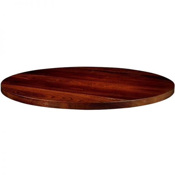 Solant Solid Wood Table Top - Dark Ash