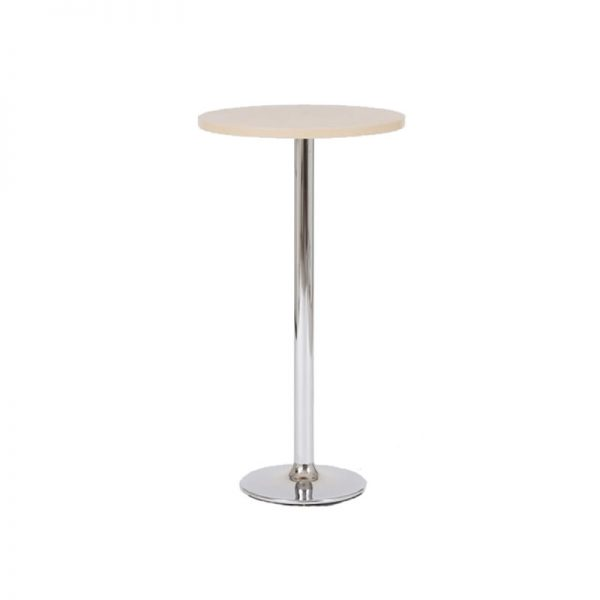Verley Poseur Tall Round Bar Table - Beech