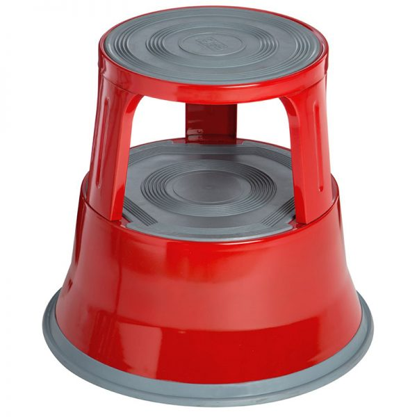 Cone 2 Tier Step Stool - Red