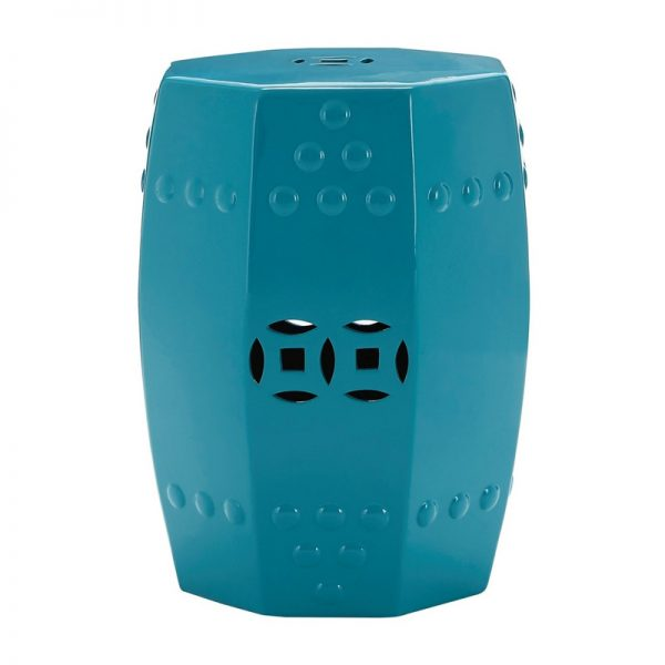 Comply Ceramic Stool - Teal