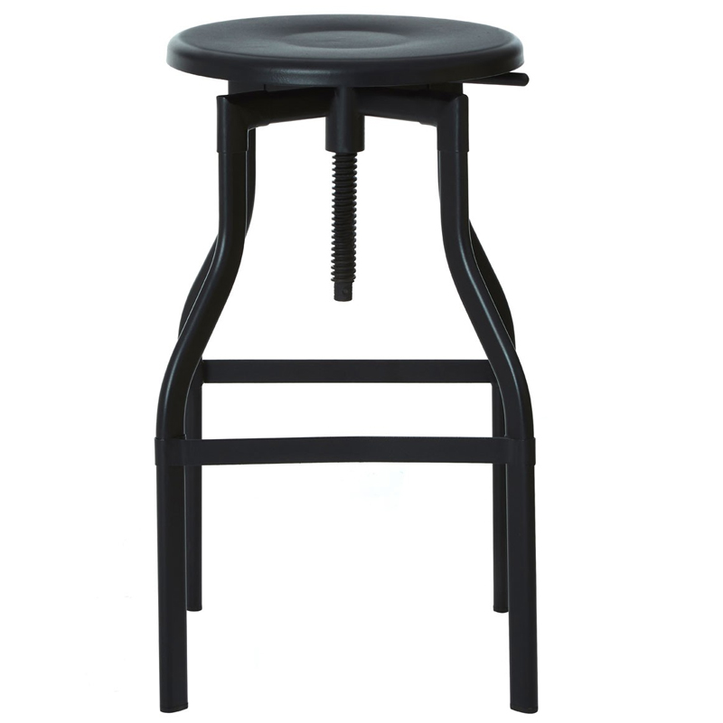Fabulous Founder Industrial Adjustable Breakfast Bar Stool Black Machost Co Dining Chair Design Ideas Machostcouk