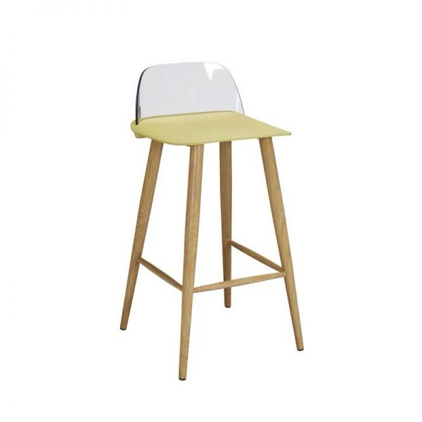 2 x Wallasey Fixed Height Breakfast Bar Stool - Lime