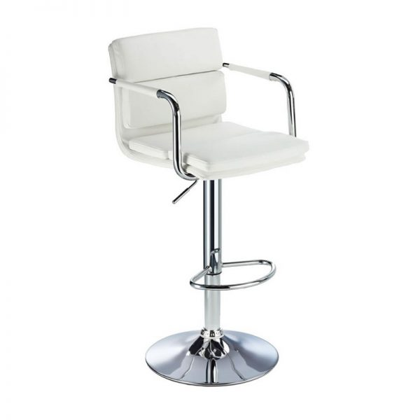 Primosy Breakfast Bar Stool - White