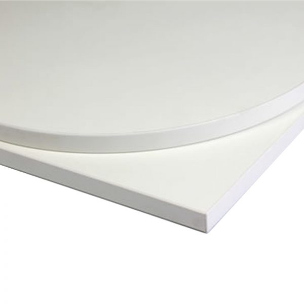 Taybon Laminate Table Top - White