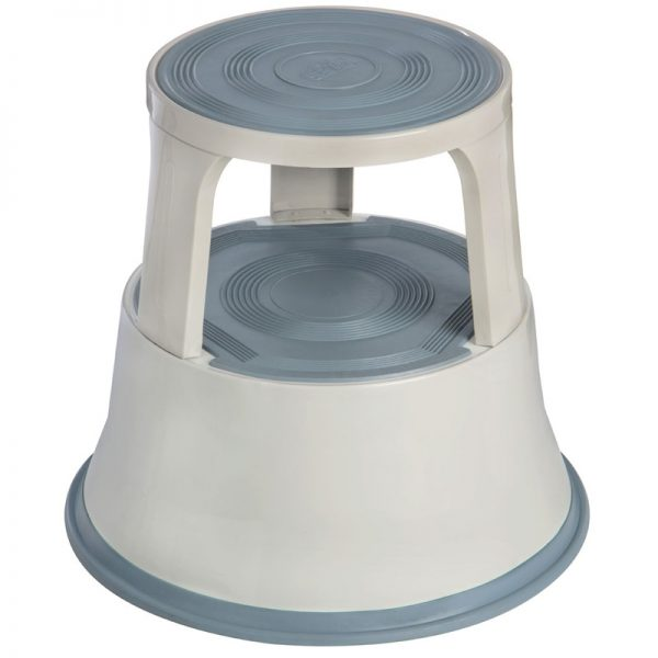 Cone 2 Tier Step Stool - Grey