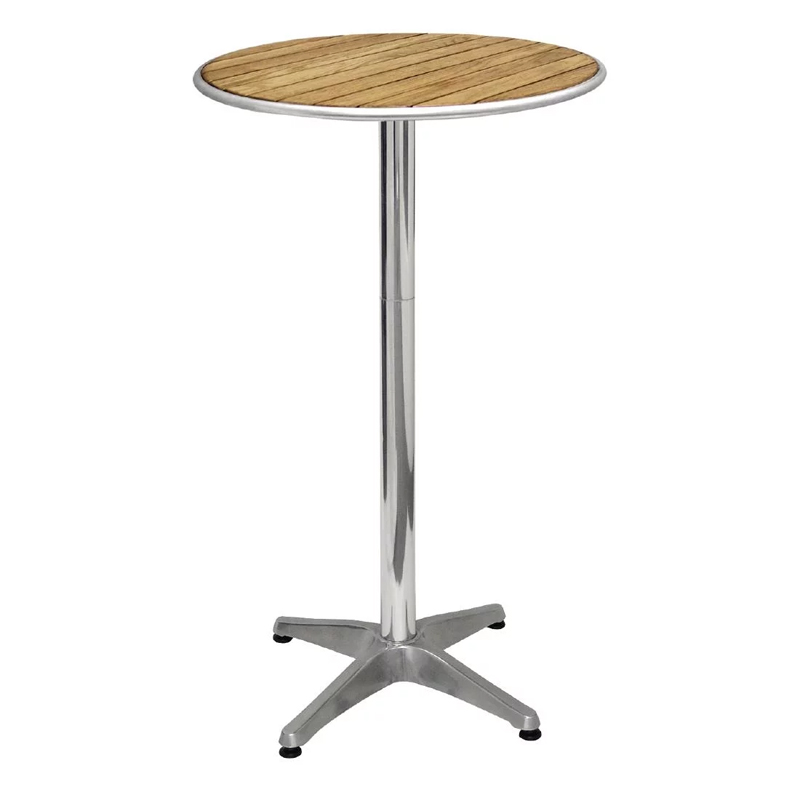 Sparrow Ash Round Poseur Table - Ash Wood