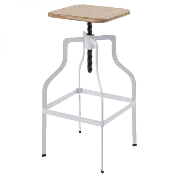 Shoreline Industrial Adjustable Bar Stool
