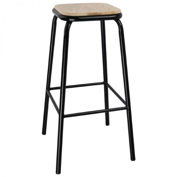 4 x Sparrow High Metal Bar Stool