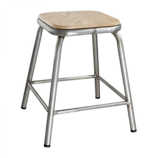4 x Sparrow Low Metal Bar Stool