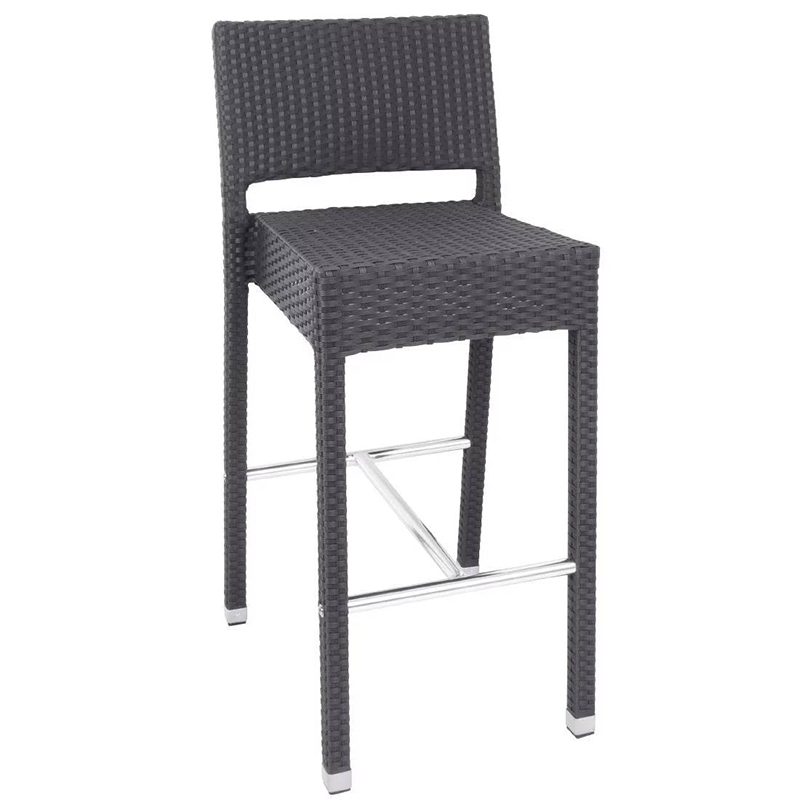 4 x Sparrow PE Wicker Kitchen Bar Stool