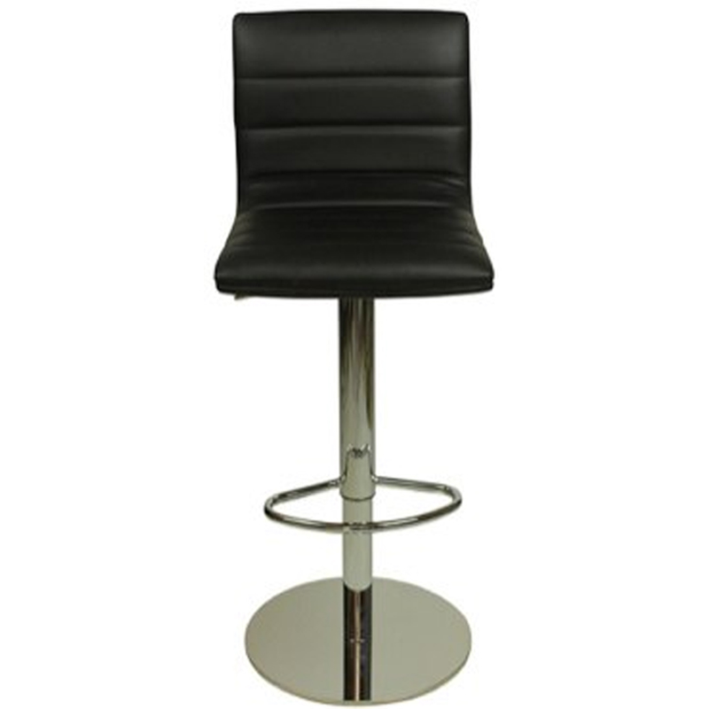 Deluxe Weighted Majorca Bar Stool - Black
